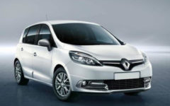 Class L Renault Scenic or Similar